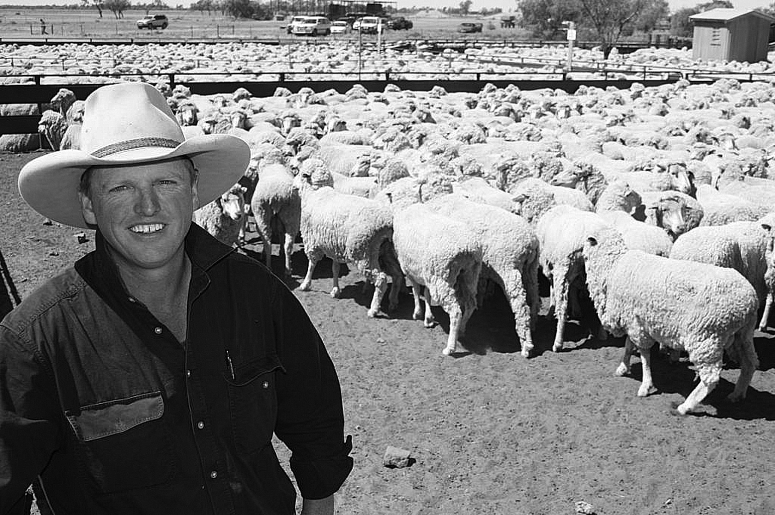 Magnus Aitken from Steam Plains at Conargo will be speaking on the benefits of six month shearing at the Wool Seminar to be held at Shear Outback in Hay on May 23.  Photo by Liz Meecham