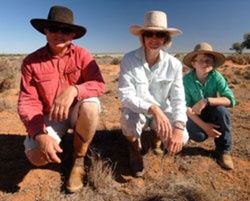 Angus Whyte and his family