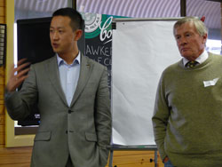 Allan Wang from AWI and Producer Geoff Power
